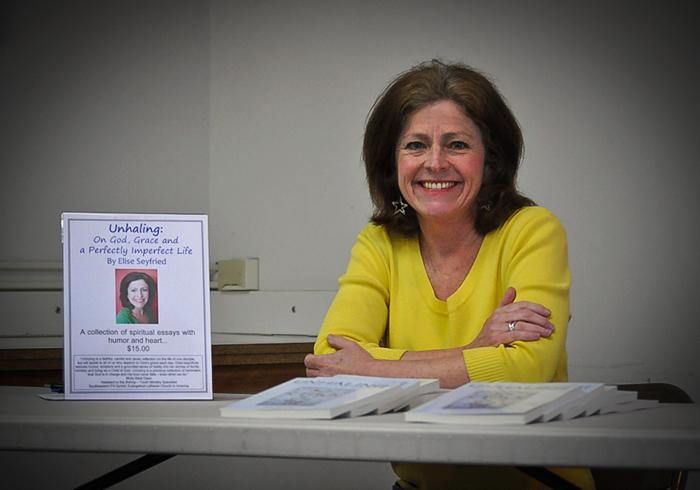 Author Elise Seyfried learns to 'unhale' | Cape Gazette