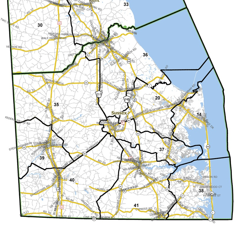 House releases maps | Cape Gazette on map of ct county, map of ct zip code, map of connecticut districts, map of ct roads,