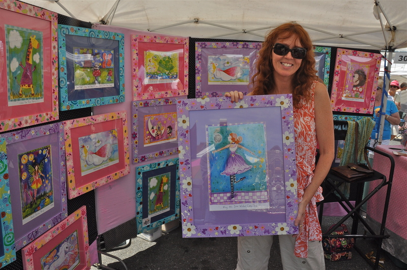 Off The Wall Arts fine art helps support extra-special causes | cape gazette