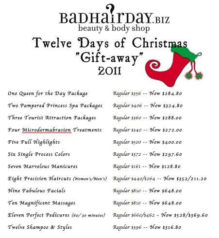 How Many Gifts Are In The Twelve Days Of Christmas.Bhd Twelve Days Of Christmas Gift Away Cape Gazette