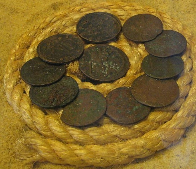 Irish Pennies Occasionally Wash Up On What Has Become Known As Coin Beach In Delaware Seas State Park Source Submitted