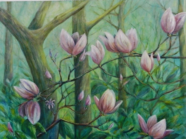 Allegro Woods Oil By Libby Zando Source Submitted
