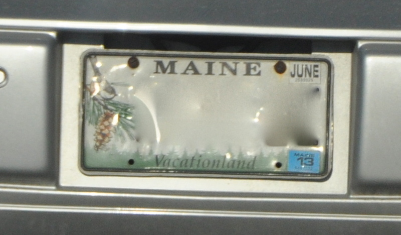 It S Ok To P Through Delaware Driving In A Maine Registered Vehicle But If You Are Resident Illegal Obtain Trailer Tag