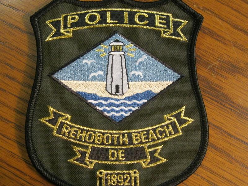 BETHANY BEACH DELAWARE DE POLICE PATCH
