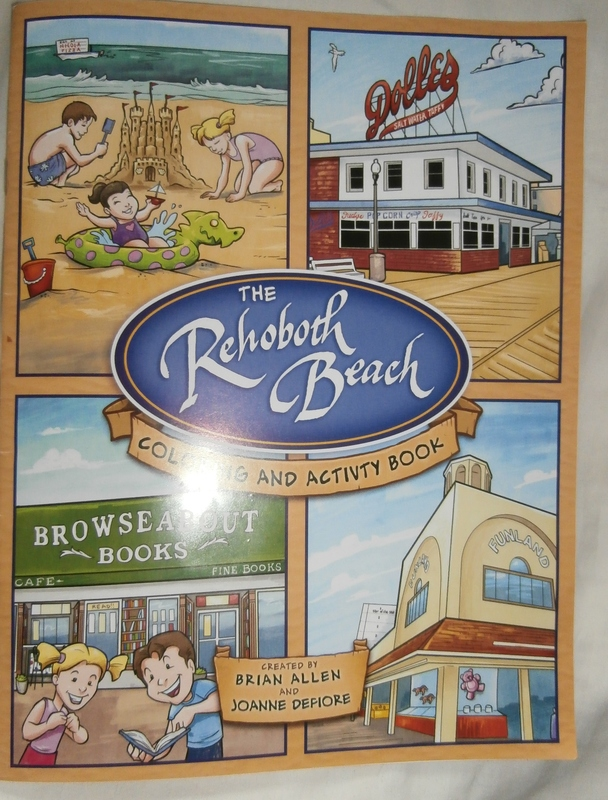 The Coloring Book Includes Landmark Establishments Throughout Seaside Town BY MOLLY MACMILLAN