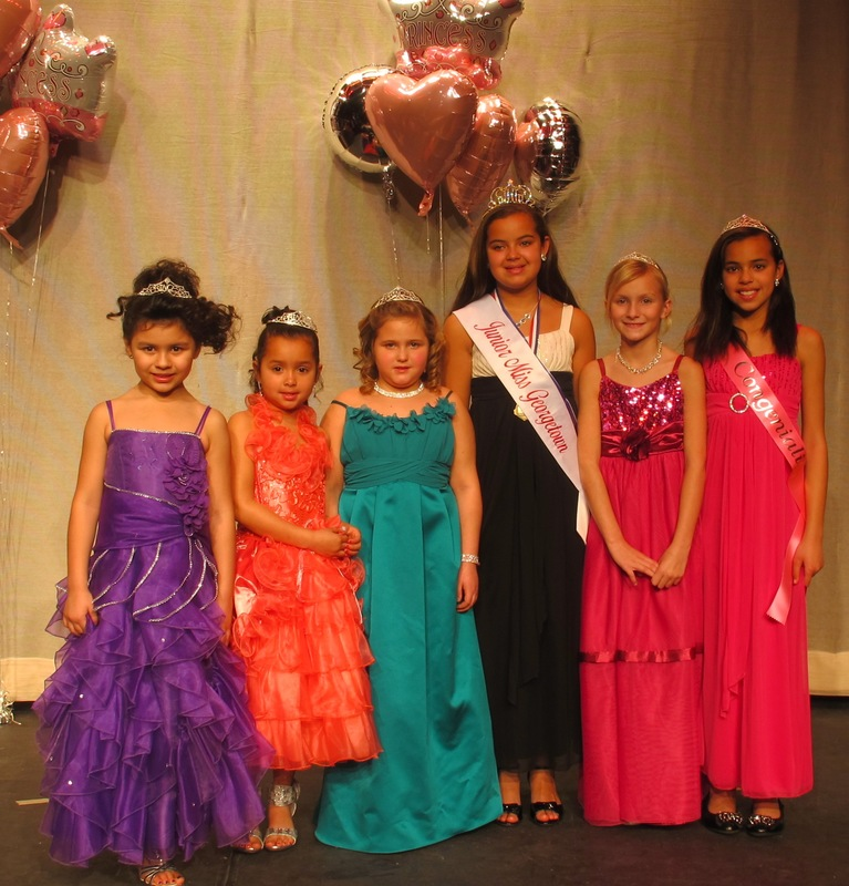 00c315e2b6e4 Junior Miss Georgetown contestants include (l-r) MaLayna Blanco
