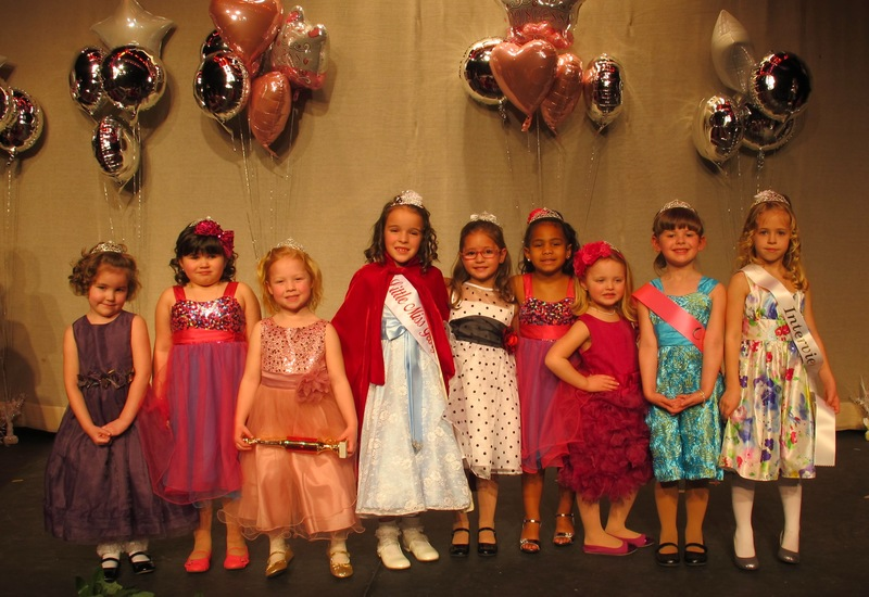 b14da388da0e Little Miss Georgetown contestants include (l-r) Emerson Wright