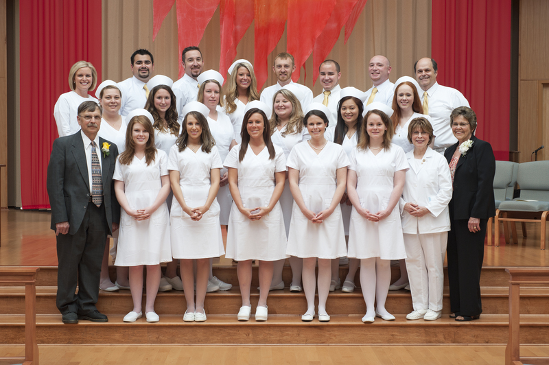 Graduating Nursing School