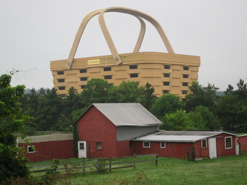 Sea To Shining Sea A Ray Bradbury Ride Across Ohio Cape Gazette With  Longaberger Basket Building.