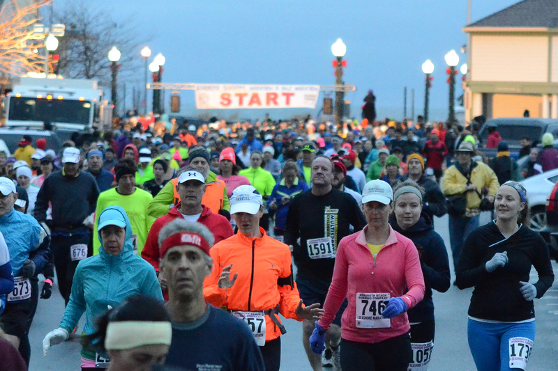 The Runners Just Kept Coming During Start Of Rehoboth Beach Half Marathon By Dan Cook