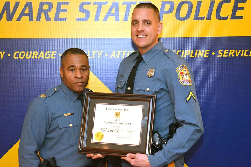 Patrick Jackson: Born to be a cop   Cape Gazette