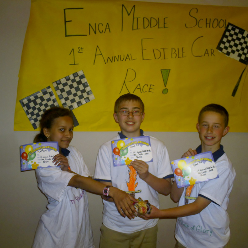 Eagle S Nest Students Practice Conservation With Edible Race Cars