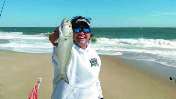 Fishing despite the rough seas wind cape gazette for Rehoboth beach fishing