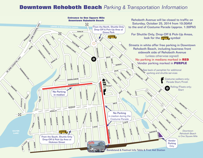 Rehoboth Beach Bike Trails Map The Best Beaches In World