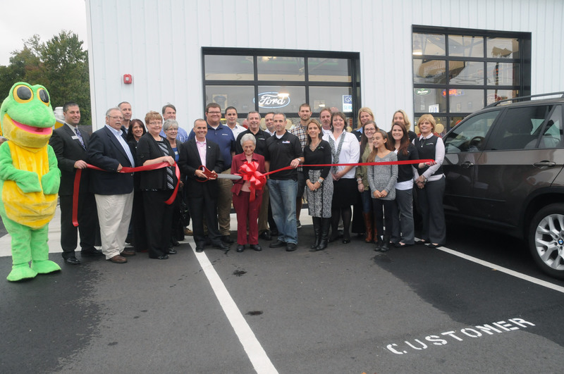 millsboro auto mart cuts ribbon cape gazette cape gazette