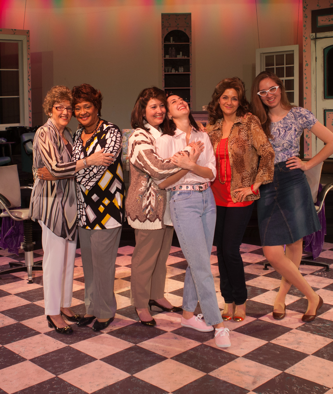 Steel Magnolias Will Spray Your Hair To Within An Inch Of Your