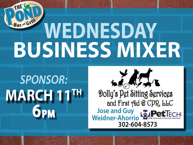 Pet Owners The Pond Is Excited To Announce That Dollys Pet Sitting