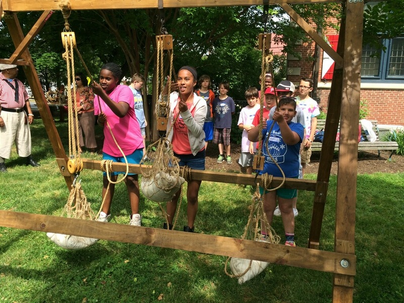 fa9392bc778d Fifth-graders from Milton Elementary School get a lesson in knot-tying  during a field trip to the Zwaanendael Museum in Lewes and Kalmar Nyckel.