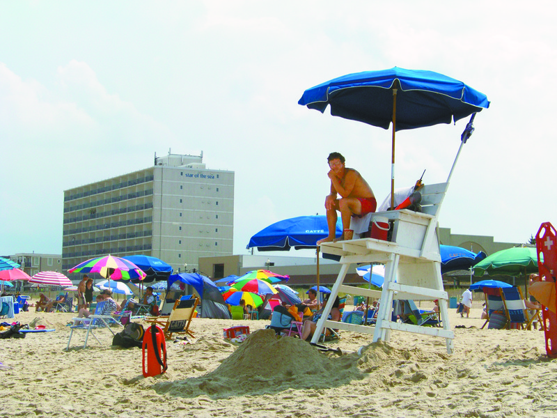 Rehoboth police investigate missing lifeguard stands for Rehoboth beach fishing