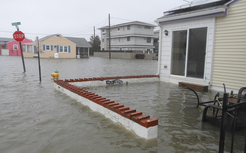 Winter Storm Causes Flooding In Oak Orchard Milton And