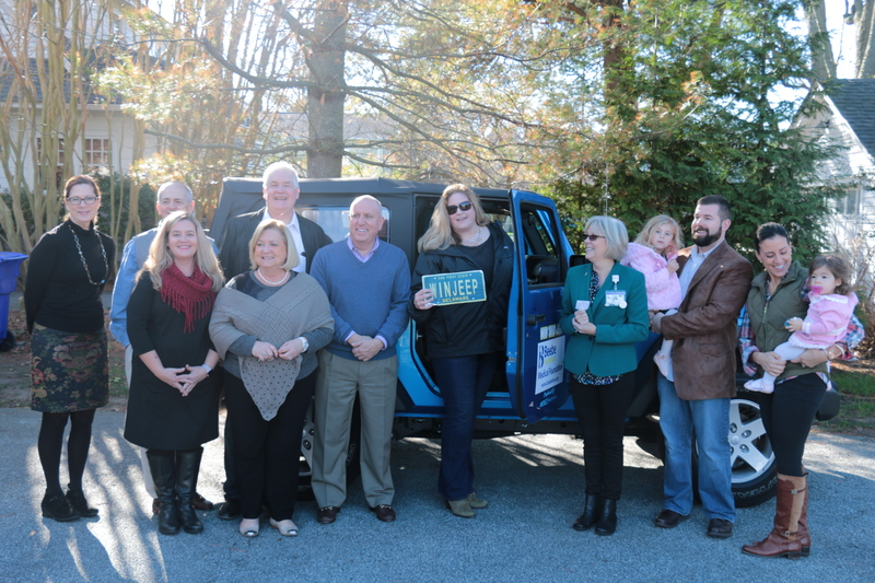 Beebe medical foundation announces winner of jeep wrangler for Megee motors in georgetown