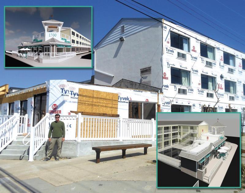 Atlantic Oceanside Hotel Undergoing Renovations Cape Gazette