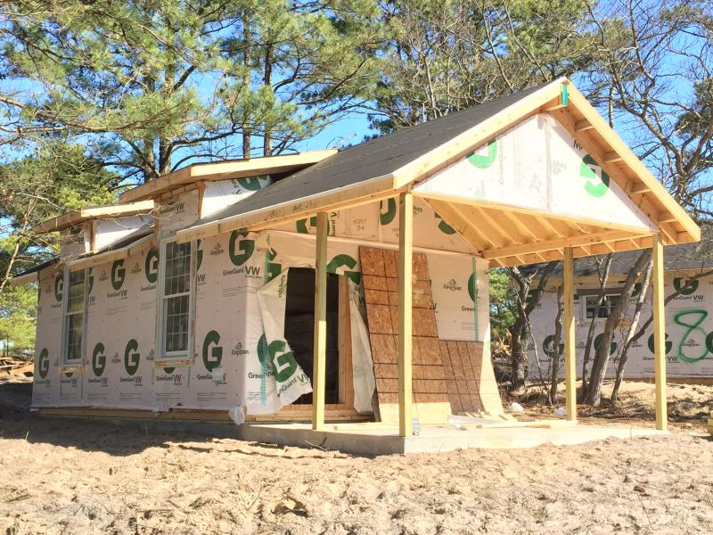 Bon Green Diamond Builders Of Felton And Middletown Is Constructing Six New Cabins  In The Campground At Cape Henlopen State Park. BY DENNIS FORNEY