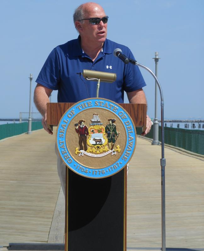 Cape henlopen fishing pier reopens cape gazette for Rehoboth beach fishing