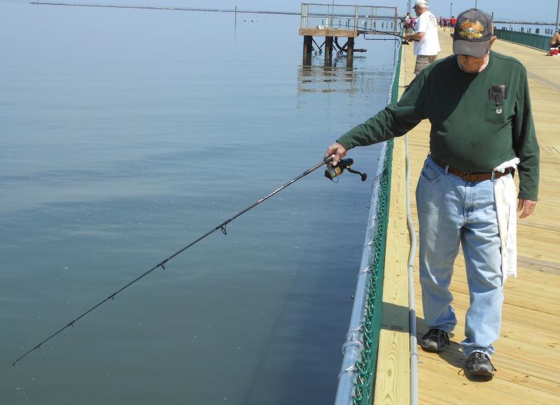 Cape henlopen fishing pier reopens cape gazette for Best bait for pier fishing