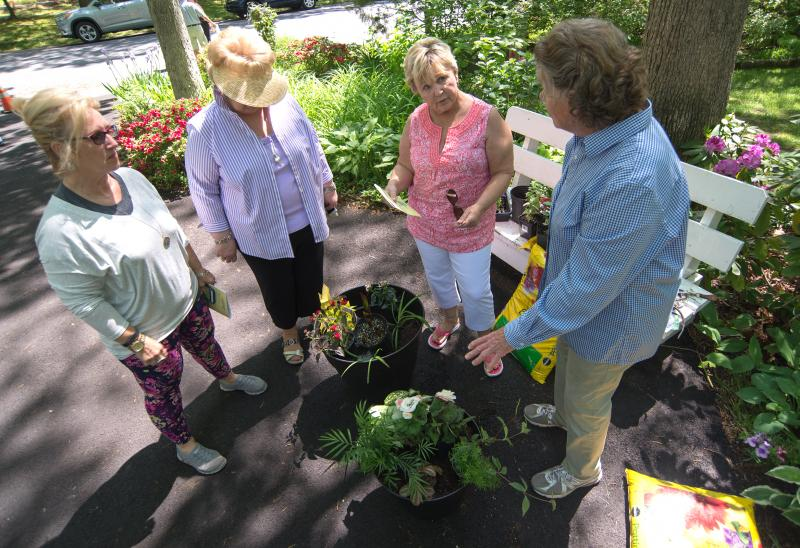 Pleasing Sussex Gardeners Hold  Garden Tour  Cape Gazette With Gorgeous Master Gardener Mary Sue Colaizzi Right Provides A Container Planter  Demonstration Nancy Riggin Lr Lea Peter And Susie Adams Listen To  Pointers With Appealing East Gardens Opening Hours Also Gardening Safety Equipment In Addition Garden Designer Devon And Peter Smith Garden Furniture As Well As Fort Worth Botanic Garden Additionally Fall Planting Garden From Capegazettecom With   Gorgeous Sussex Gardeners Hold  Garden Tour  Cape Gazette With Appealing Master Gardener Mary Sue Colaizzi Right Provides A Container Planter  Demonstration Nancy Riggin Lr Lea Peter And Susie Adams Listen To  Pointers And Pleasing East Gardens Opening Hours Also Gardening Safety Equipment In Addition Garden Designer Devon From Capegazettecom