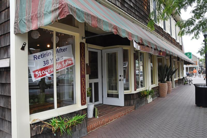 Habersham Peddler Interiors On Second Street In Lewes Is Closing After More  Than 30 Years In Business. NICK ROTH PHOTO