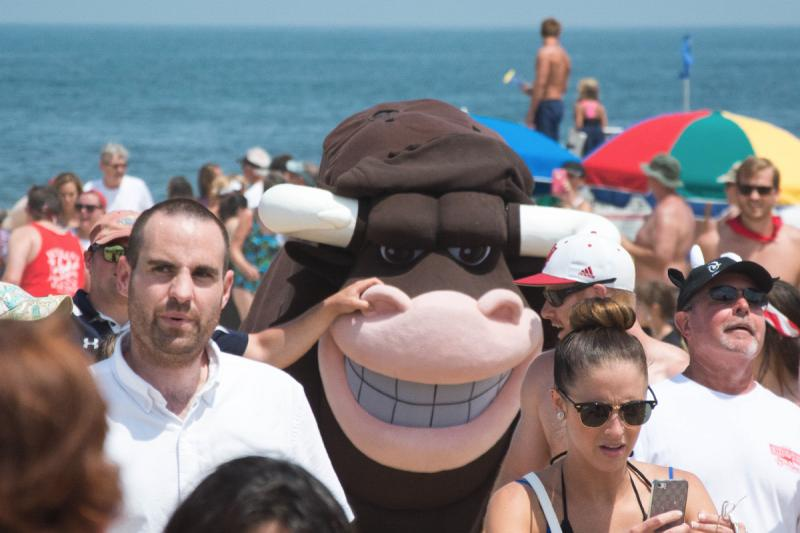 Running Of The Bull In Dewey Beach Has