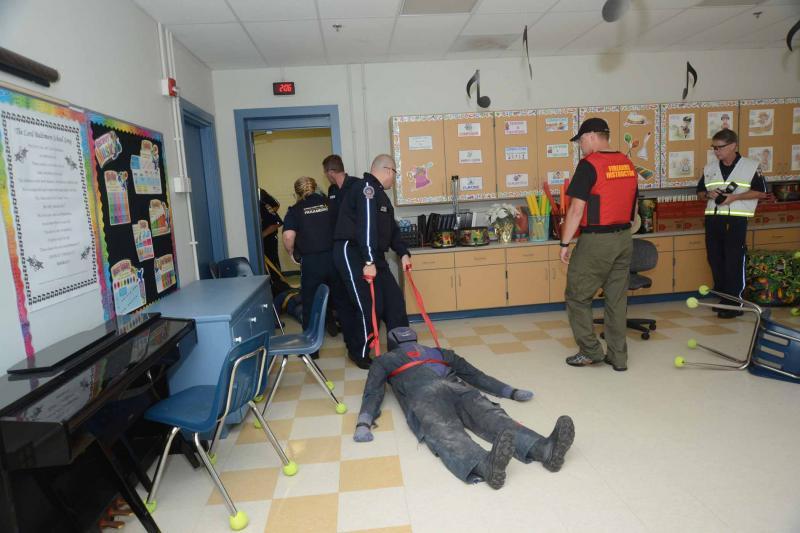 Rescue Task Force Training Held In Ocean View Cape Gazette