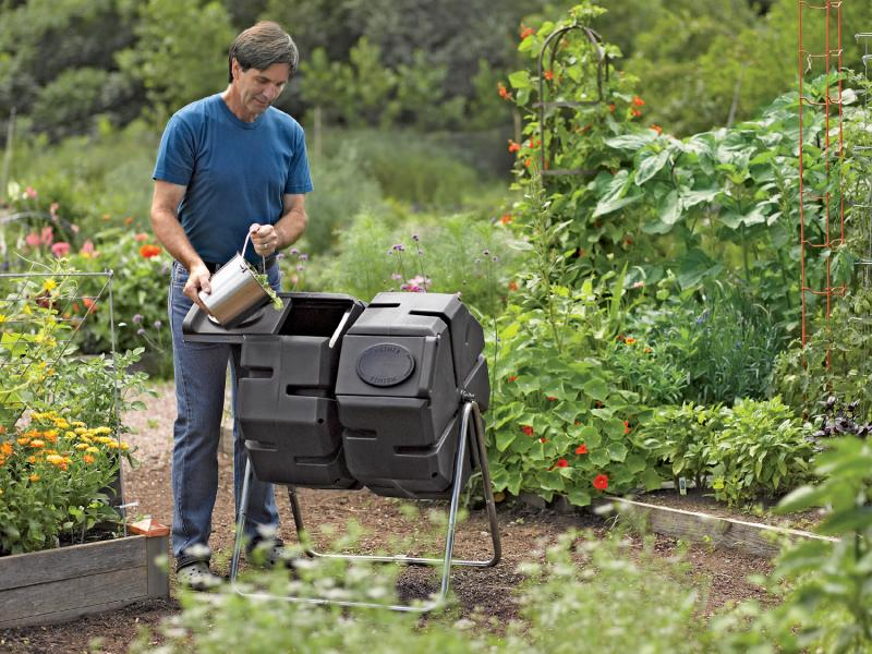 Tumbler Composters Are Great For Small Spaces And Make Loading, Unloading  And Turning Much Easier. SUBMITTED PHOTO