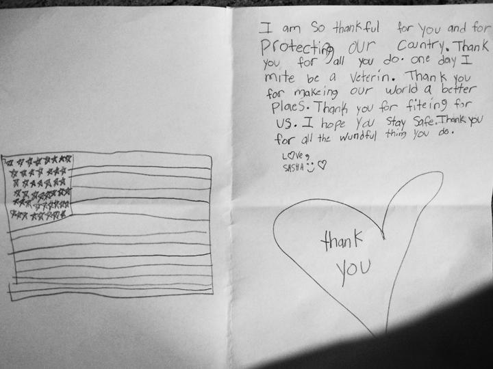 Second graders write letters to thank veterans cape gazette for veterans day second graders wrote thank you letters for veterans submitted photo expocarfo