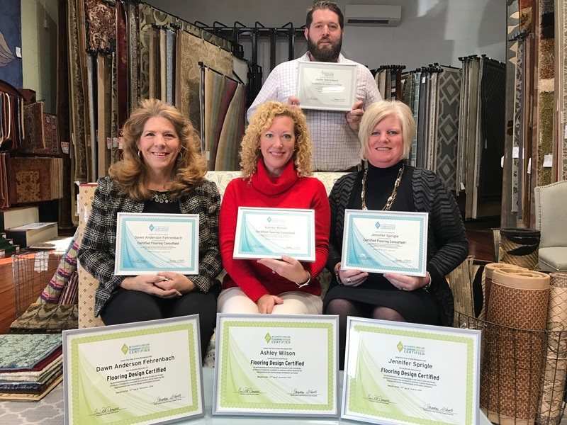 Anderson Carpet One Earns Customer Excellence Certification Cape