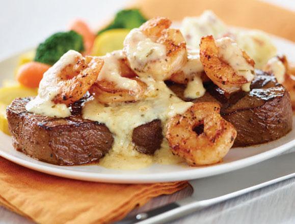 Garlic Basil Parmesan Shrimp & Steak Recipe - Made with from Peppers.com   Cape Gazette