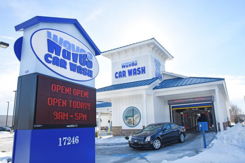 Waves Car Wash opens in Lewes   Cape Gazette