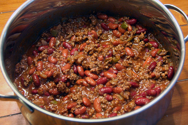 Super Chili Recipe Made With Satan S Rage Pepper Sauce Made With