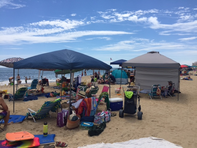 On Friday ... & Rehoboth to ban canopies grills on beach | Cape Gazette