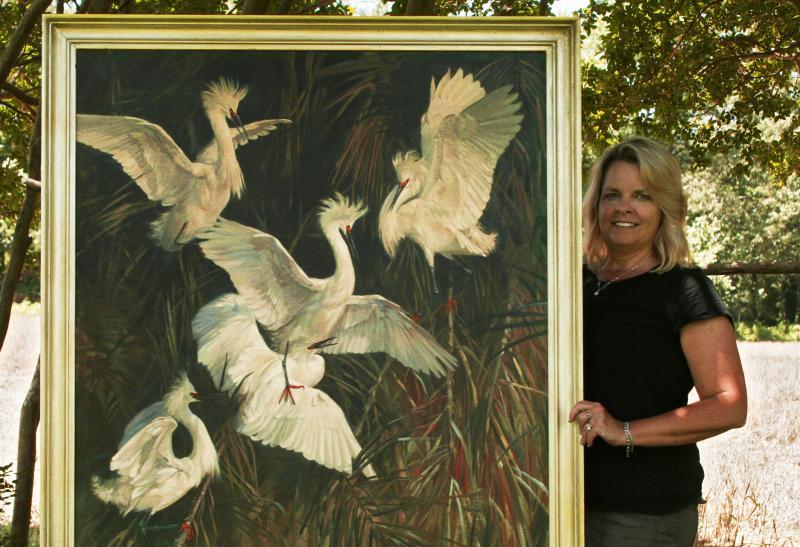 Julia Rogers named Waterfowl Festival featured artist   Cape Gazette