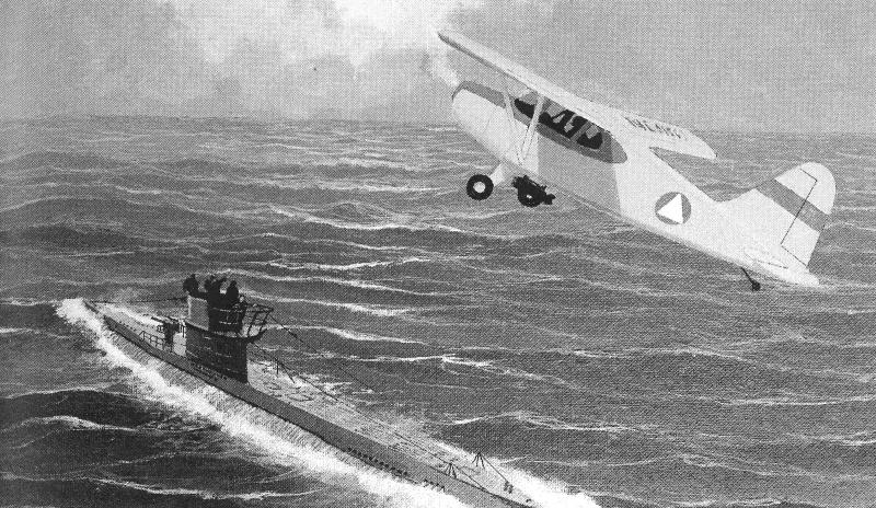 S And Har Ment By Civil Air Patrol Pilots During The Early Days Of World War Ii Were Enough To Drive German Submarines Away From The East Coast