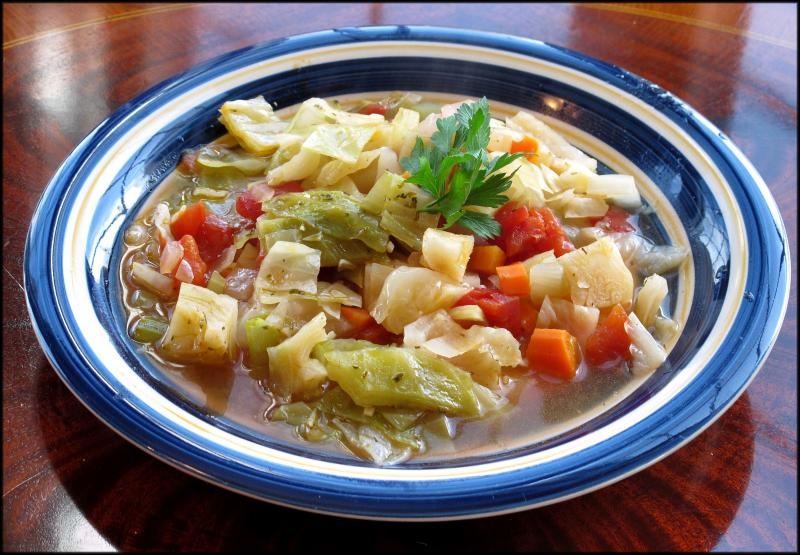 Get the real skinny on the cabbage soup diet cape gazette cabbage soup cabbage onion celery garlic carrots and tomatoes jack clemons photo forumfinder Image collections