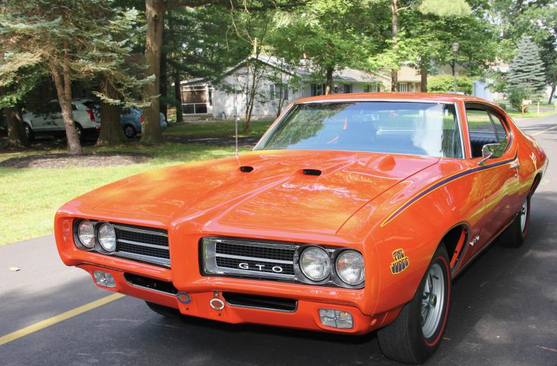 their 1969 gto judge very special for the dunbars cape gazette