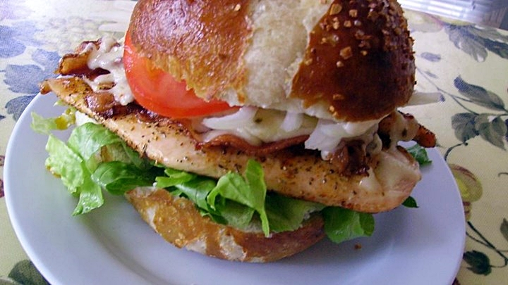 Mary's Cherry Bacon Jack Chicken Sandwich Recipe - Made with