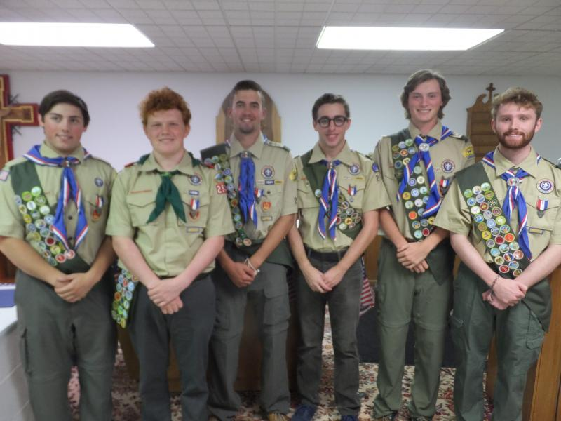 Matt The Scout Boy Credits Version 2: Eight Cape Region Teens Get Boy Scouts' Highest Honor
