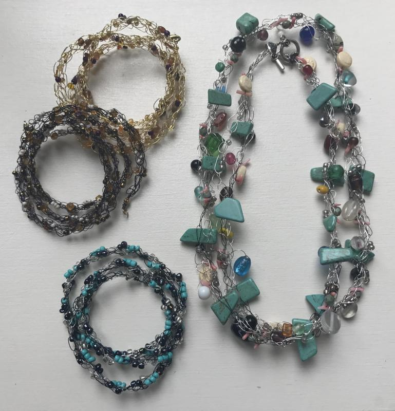 Wire and bead crocheted jewelry-making class set Aug. 16 | Cape Gazette