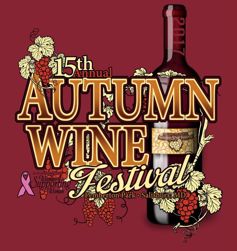 Wicomico County Autumn Wine Festival, Autumn Wine Festival, Wicomico County, Wicomico, Salisbury, Wine Festival, Wine, Tasting, Concert, Music
