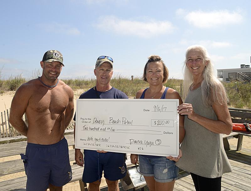 Dimitra Yoga supports Rehoboth, Dewey beach patrols | Cape Gazette