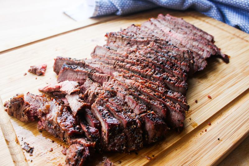 Balsamic Grilled London Broil Recipe